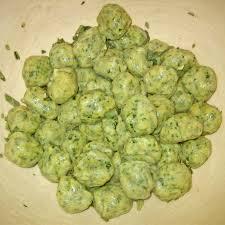 gnocchi de espinaca